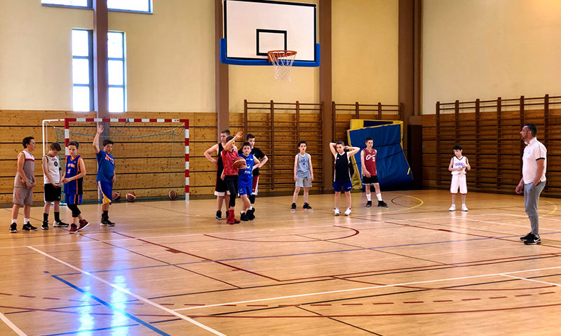 Camp de Printemps U12/U13 2018