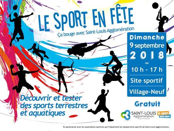 Le sport en fête avec Saint-Louis Agglomération au site sportif de Village-Neuf