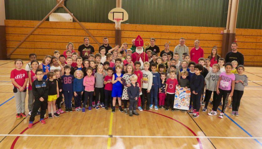 Saint-Nicolas et opération « Kinder + Sport Basket Day » pour les jeunes